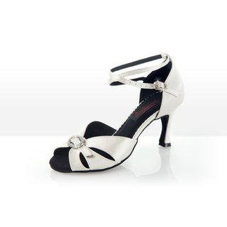 Crystal - Brautschuh Damen 41 (UK: 7,5) 7 cm