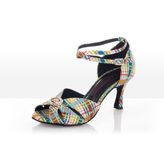 Crazy - Latein Tanzschuh Damen 42,5 (UK: 8,5) 7 cm