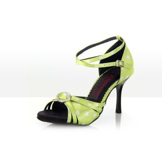 Lemon Fresh - Latein Tanzschuh Damen 36,5 (UK: 4) 7,5 cm Chromledersohle